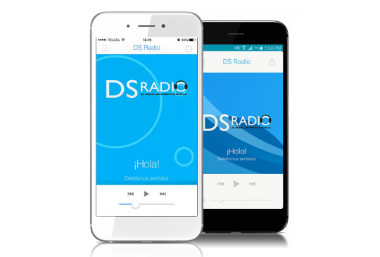 apps ds radio android ios - digital snd